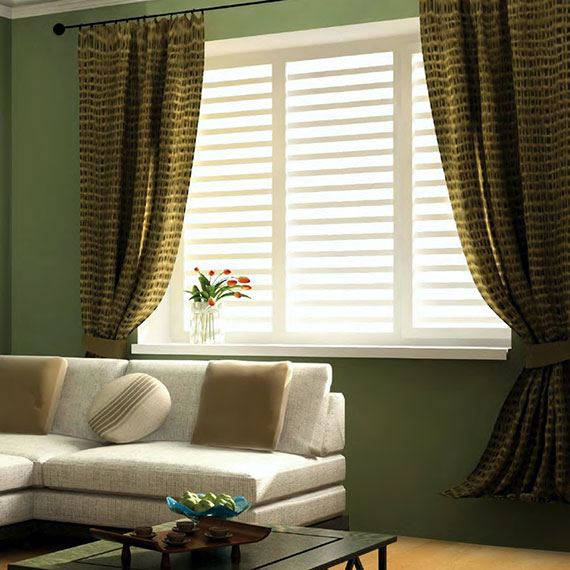 Thermocore and WoodCore PolyClad Wood - Traditional Wood Shutters meets Technology